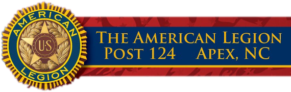 Sponsor The American Legion Apex Post 124