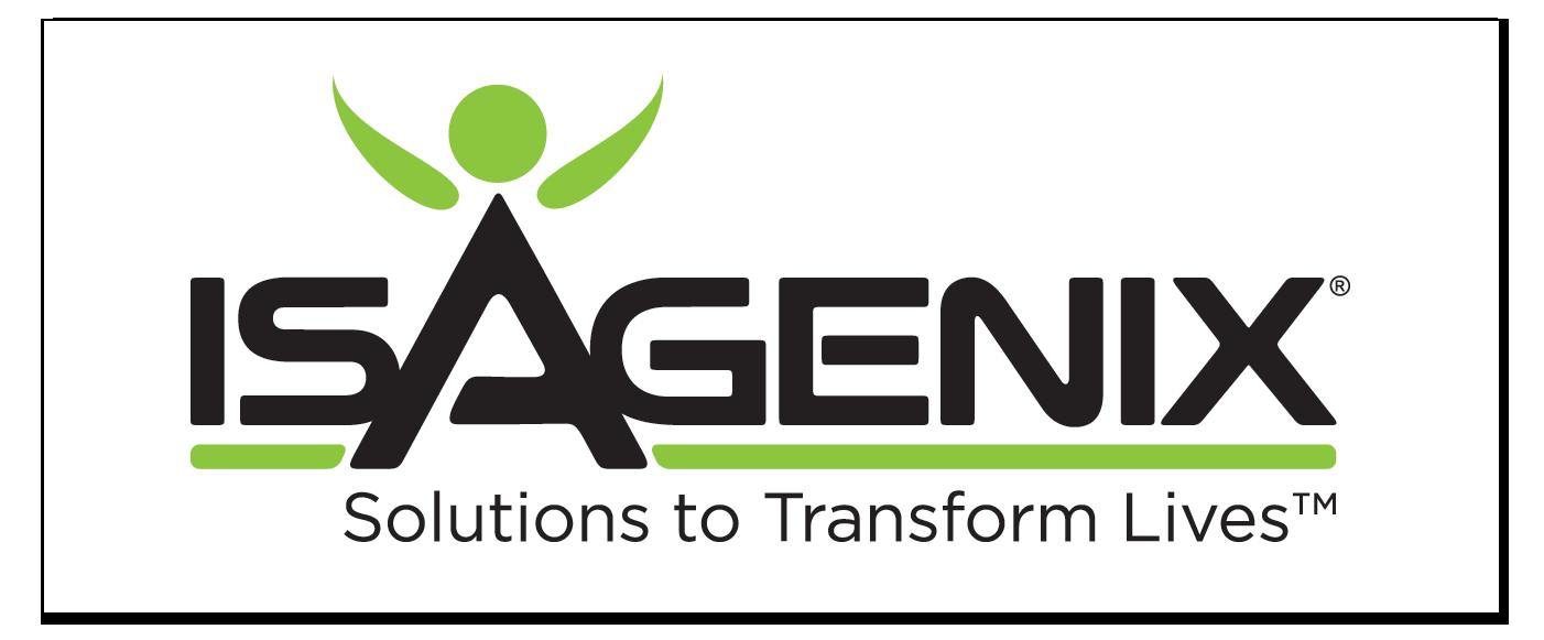 Sponsor Isagenix