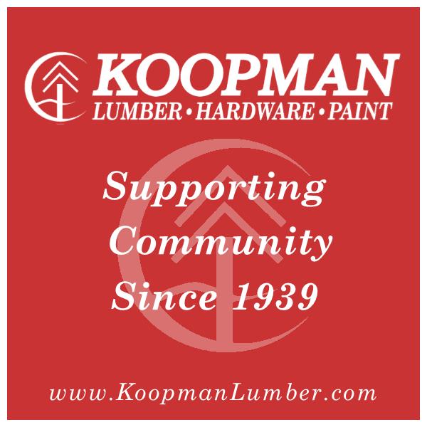 Sponsor KOOPMAN LUMBER COMPANY