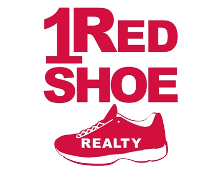 Sponsor 1 red shoe
