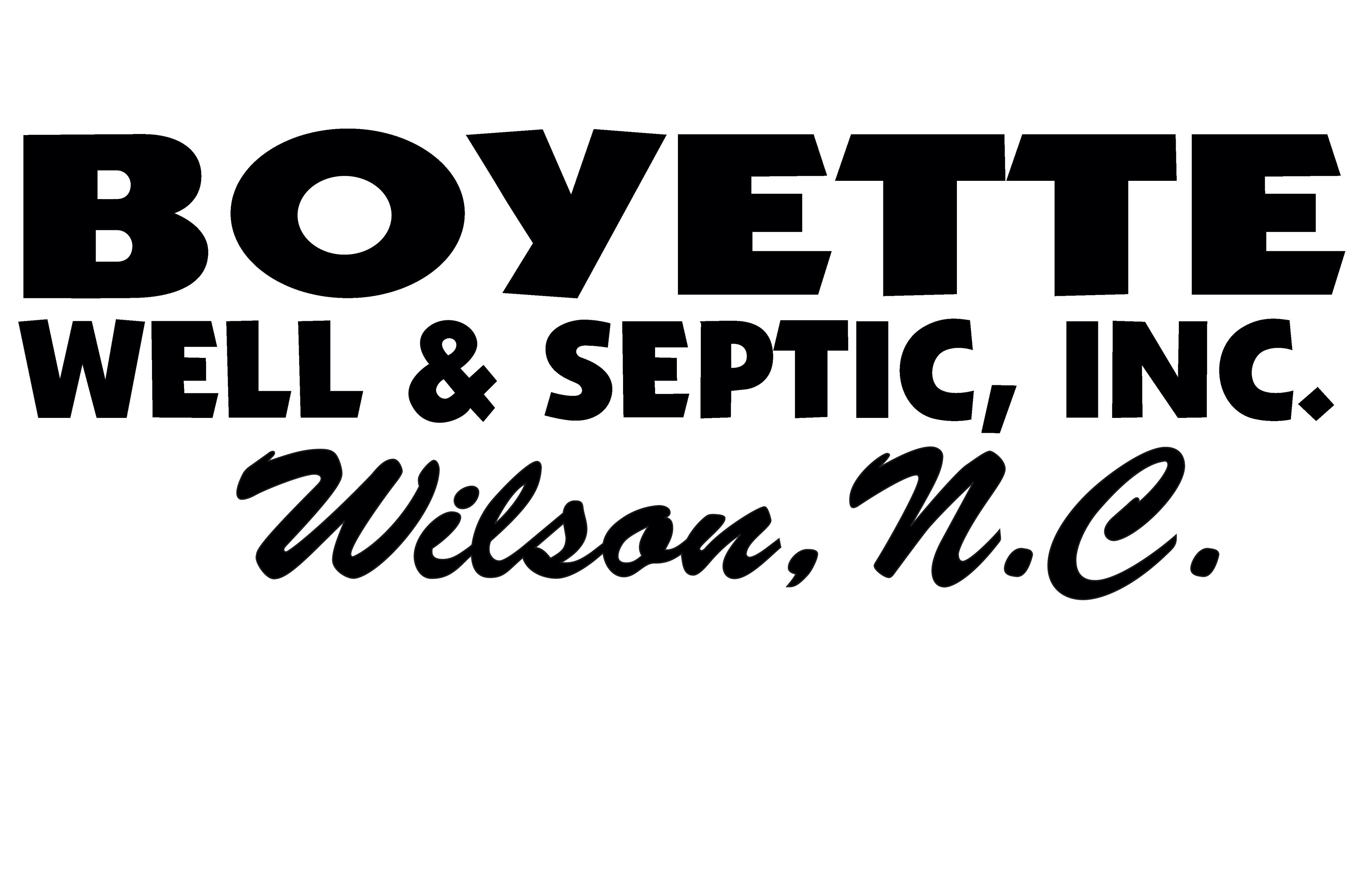 Sponsor Boyette Well and Septic