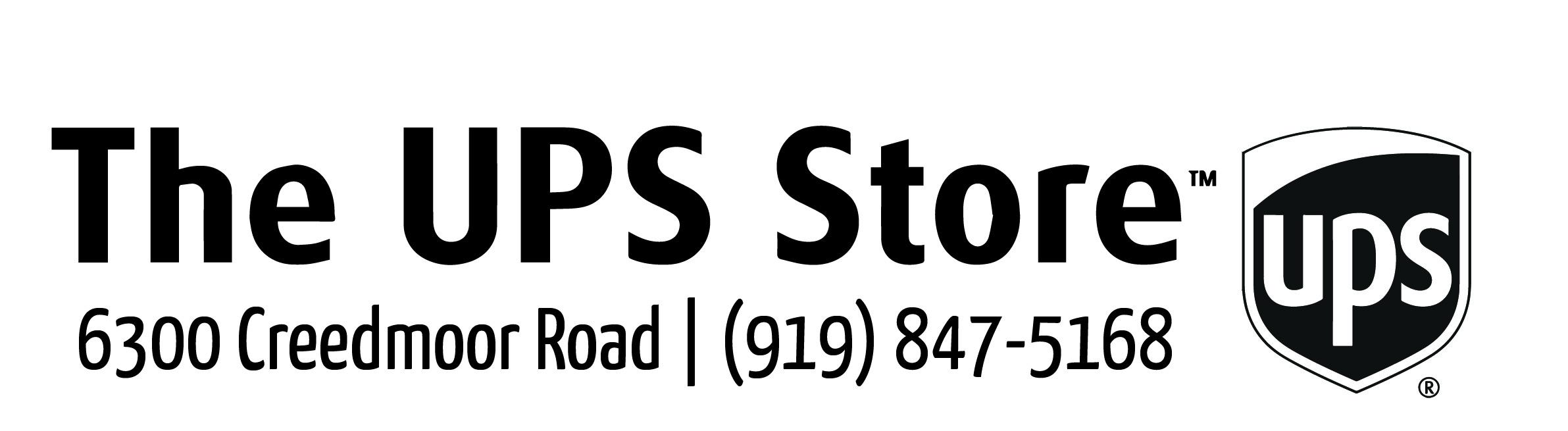 Sponsor The UPS Store (on Creedmoor Road) #5879