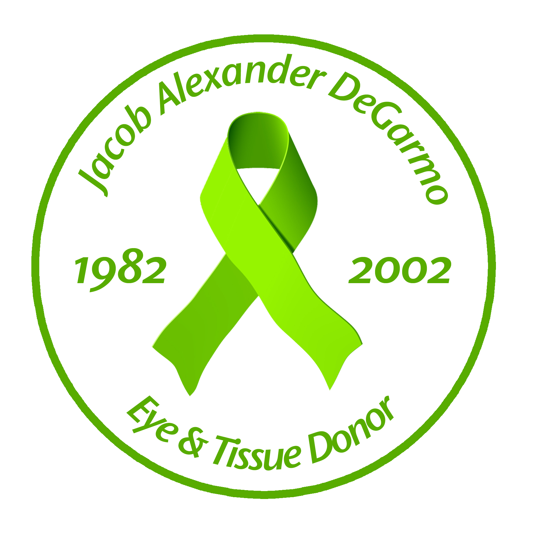Sponsor In Memory of Jacob Alexander DeGarmo