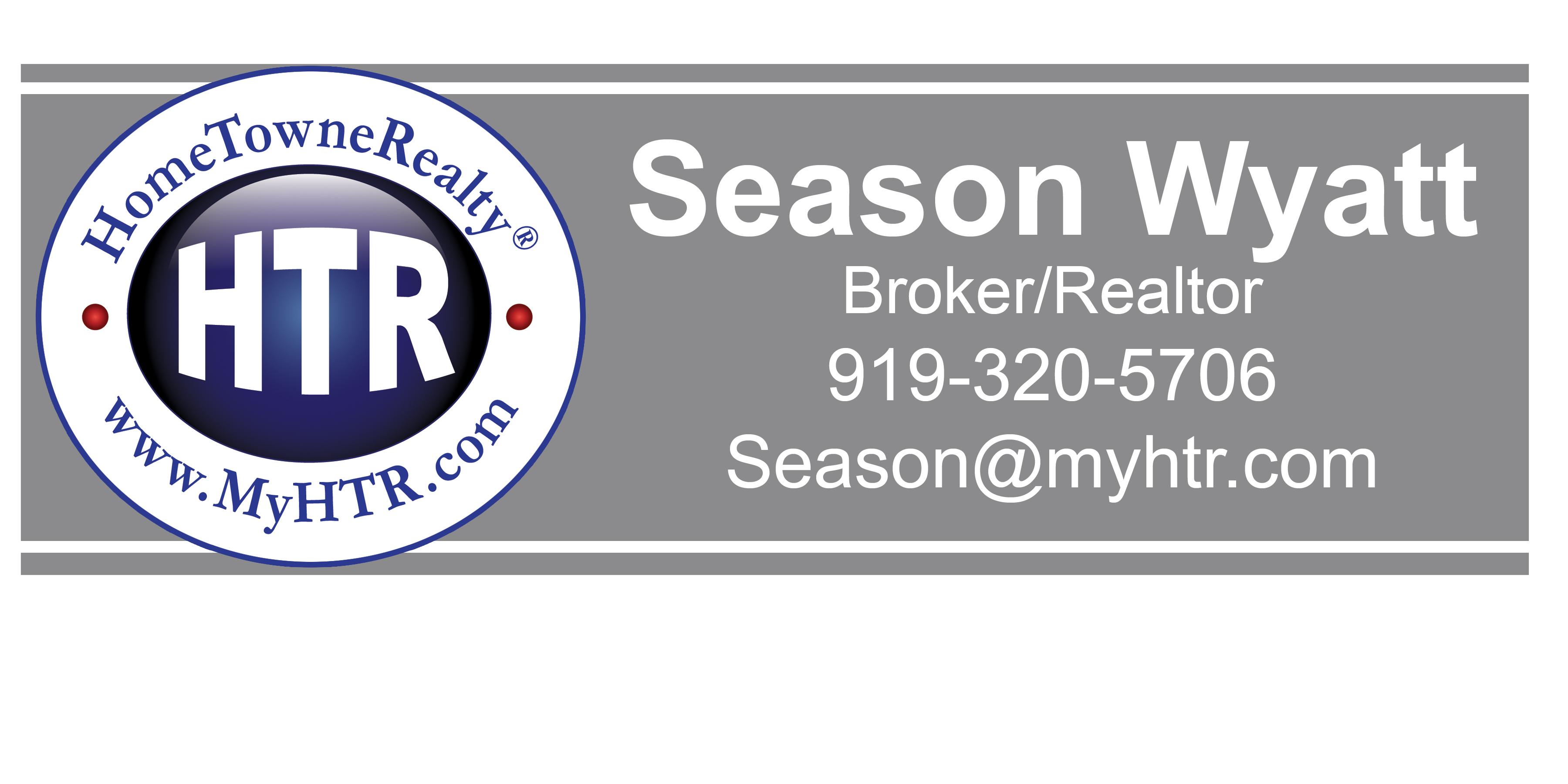 Sponsor Season Wyatt, HTR Broker/Realtor