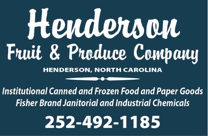 Sponsor Henderson Fruit and Produce