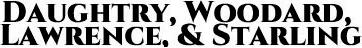 Sponsor Daughtry, Woodard, Lawrence, & Starling