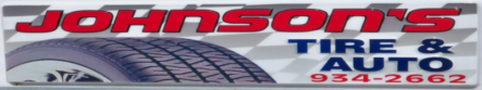 Sponsor Johnson's Tire & Auto