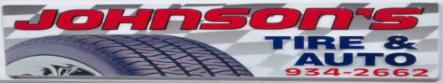 Sponsor Johnson's Tire & Auto