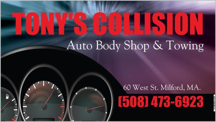 Sponsor Tony's Collision