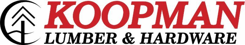 Sponsor Koopman Lumber & Hardware