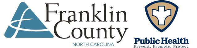 Sponsor Franklin County Health Department