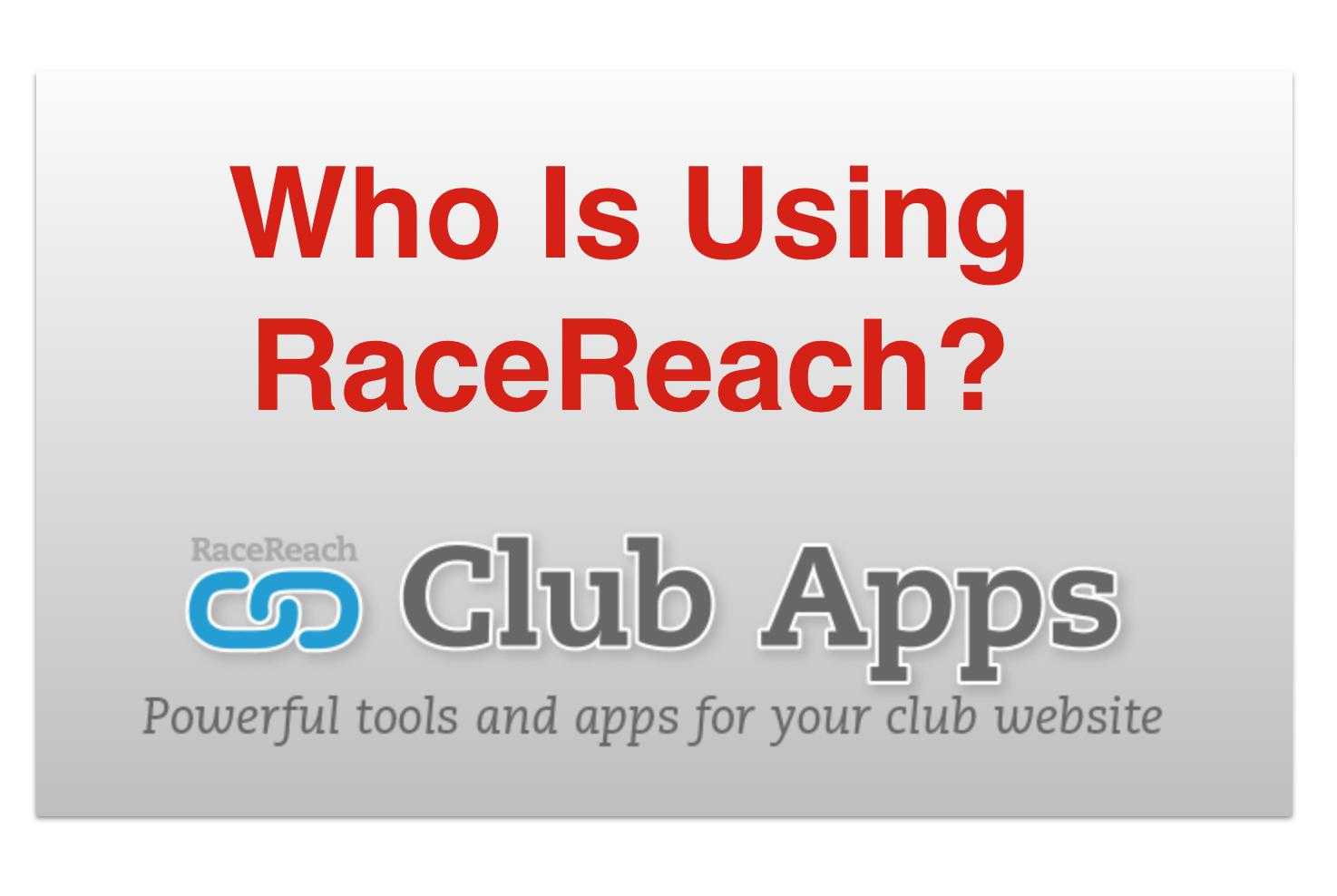 Sponsor RaceReach Sponsorships