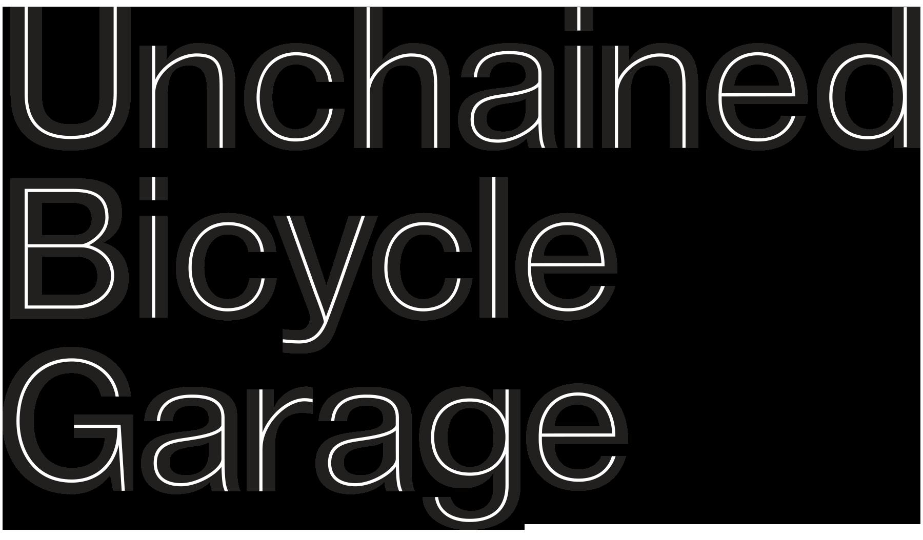 Sponsor Unchained Bicycle Garage