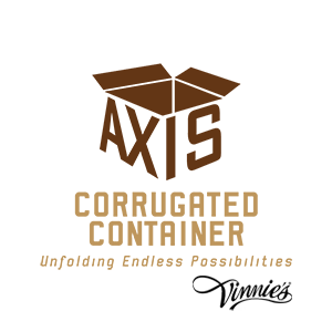 Sponsor Axis Corrugated Container