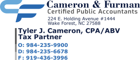 Sponsor Cameron & Furman